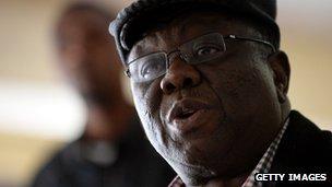 Zimbabwean Prime Minister Morgan Tsvangirai
