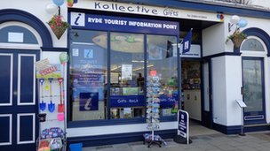 Gift shop in Ryde