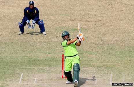 Pakistan batsman during 2010 Asian Games