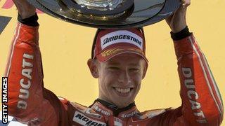 Casey Stoner Ducati celeb 2007