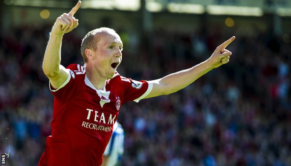 Aberdeen midfielder Willo Flood