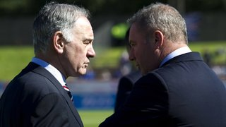 Charles Green and Ally McCoist
