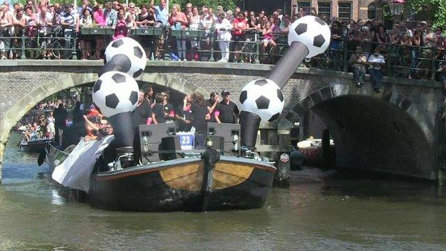 Gay Pride flotilla