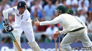 Stuart Broad hits out