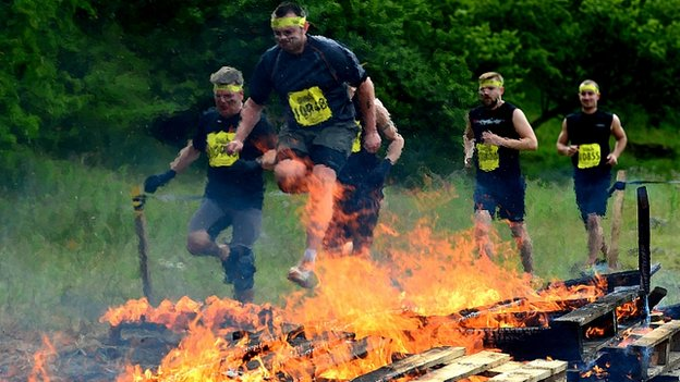 Total Warrior 10 Mile Challenge