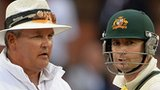 Marais Erasmus and Michael Clarke