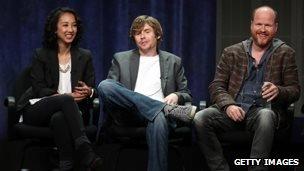 Maurissa Tancharoen, Jed Whedon, Joss Whedon