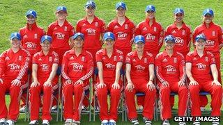 The England women's team