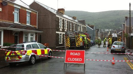 Firefighters called to localised flooding in Aberavon