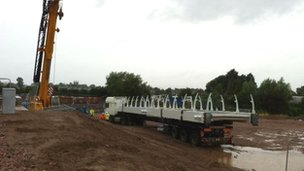 New bridge being delivered in Hereford
