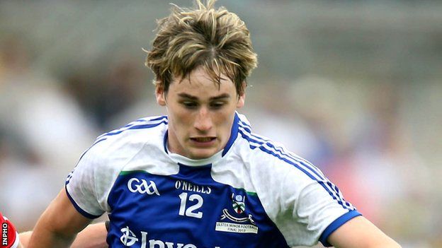 Adam Treanor scored in Monaghan's win over Tipperary