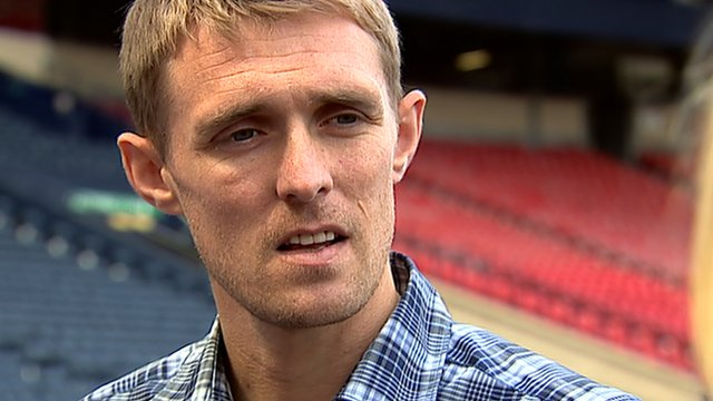 BBC Sport - DARREN FLETCHER: No thoughts of Manchester Utd or.