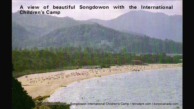 Songdowon children's camp brochure