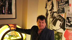 Stuart Maconie, presenter of BBC Radio 2's The People's Songs