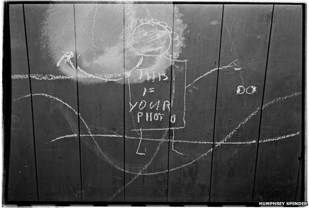 Childrens Graffiti, April 1938