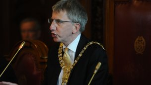 Sinn Féin's Máirtín Ó Muilleoir was elected lord mayor in June