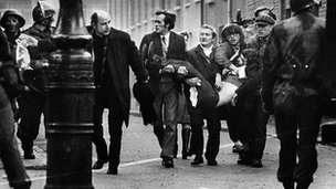 The events of Bloody Sunday