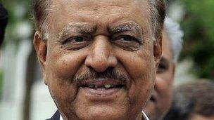 Pakistani President-elect Mamnoon Hussain