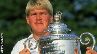 John Daly, USPGA champion at Crooked Stick