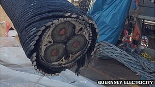 Guernsey-Jersey undersea cable being replaced