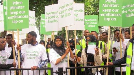 Somalia protest
