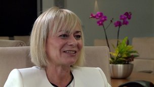Harriet Green, CEO of Thomas Cook