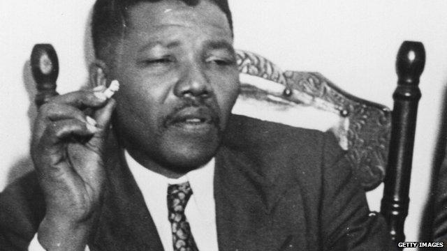 Nelson Mandela in 1964