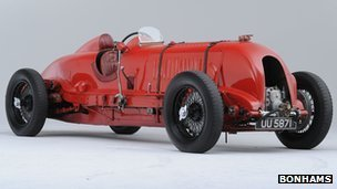 The ex-Sir Henry 'Tim' Birkin 1929 Bentley courtesy Bonhams