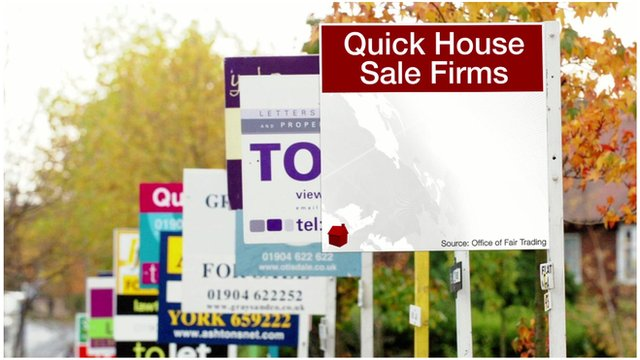 Quick house sale signs