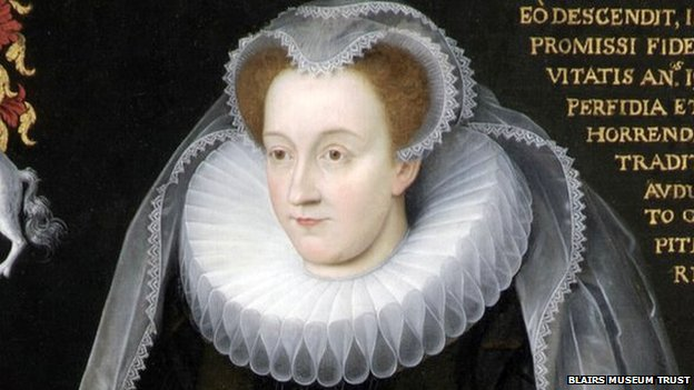 Mary Queen of Scots Blairs Memorial Portrait