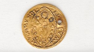 16th century gold coin