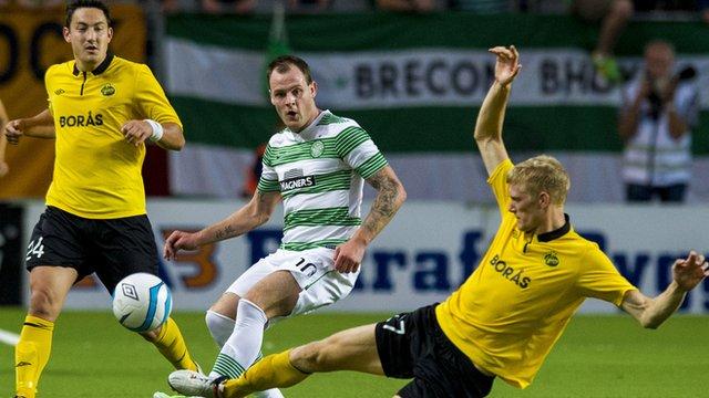 Elfsborg v Celtic