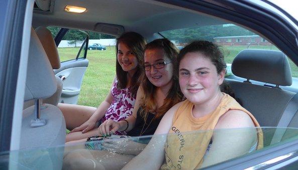 Jasmine Jamieson, Erin Bullard, and Jenny Ulz