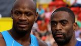 Asafa Powell and Tyson Gay