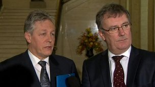 Peter Robinson and Mike Nesbitt