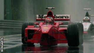 David Coulthard, Michael Schumacher