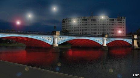 Artist impression of the new look Trent Bridge