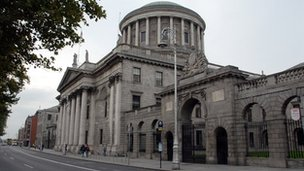 The Four Courts in Dublin, home to the Irish Supreme Court, High, Circuit and District Courts
