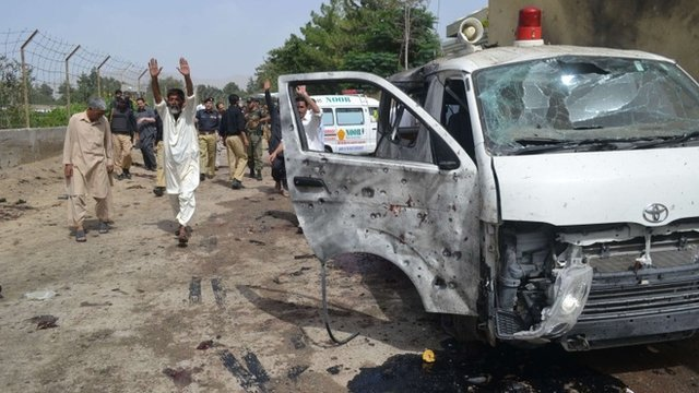 Quetta bombing aftermath