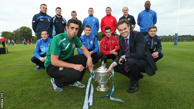 The Irish League season runs from August to April