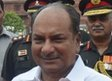 Indian Defence Minister AK Antony