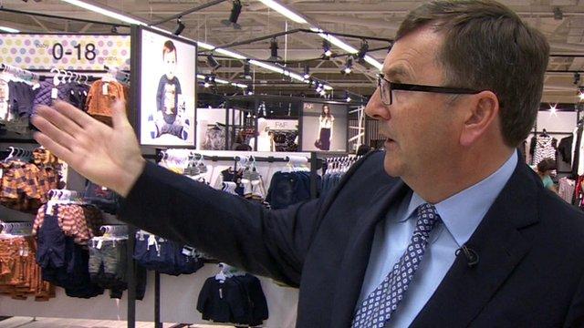 Tesco CEO Philip Clarke in Watford store