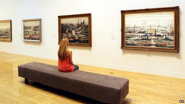 Lowry paintings