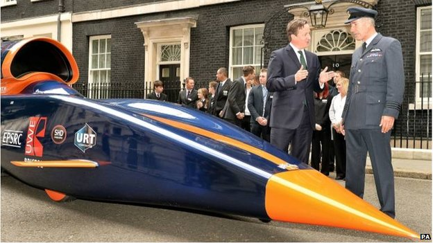 We'll do 1000 mph, Prime Minister