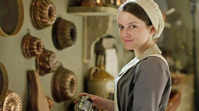 Sophie McShera in Downton Abbey