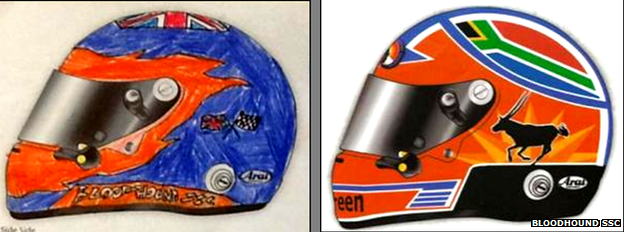 Winning helmet designs