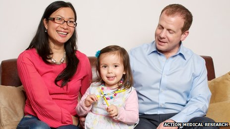 Kylie with her mum and dad, Nhu and Kevin