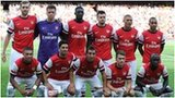 Arsenal line up against Galatasaray in the Emirates Cup this month