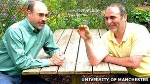 Professor Richard Preziosi and Dr Dave Penney