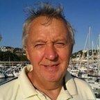 Eric Brocklebank at a port